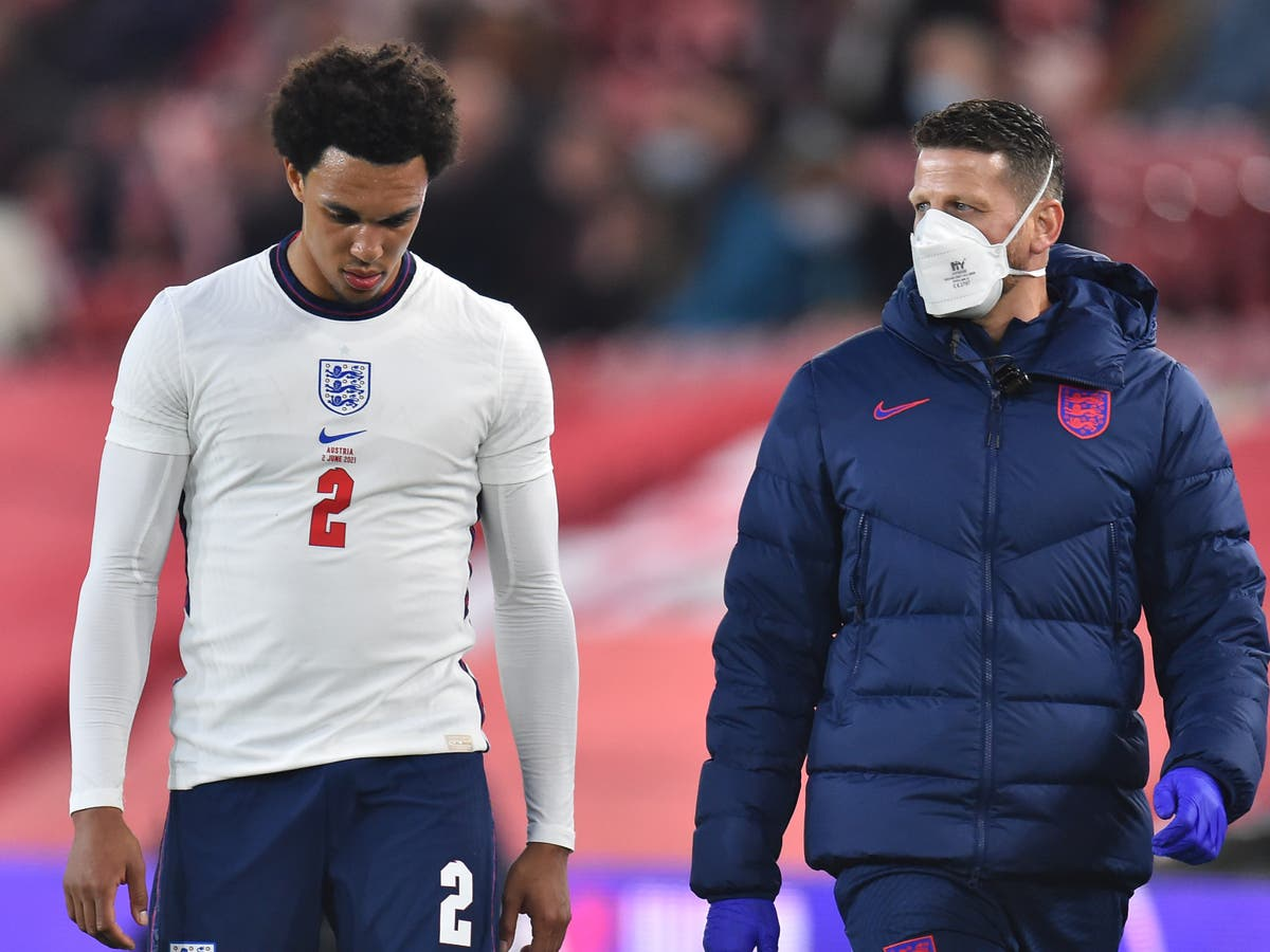 Trent Alexander-Arnold 'absolutely gutted' as injury ends his Euro 2020 dream