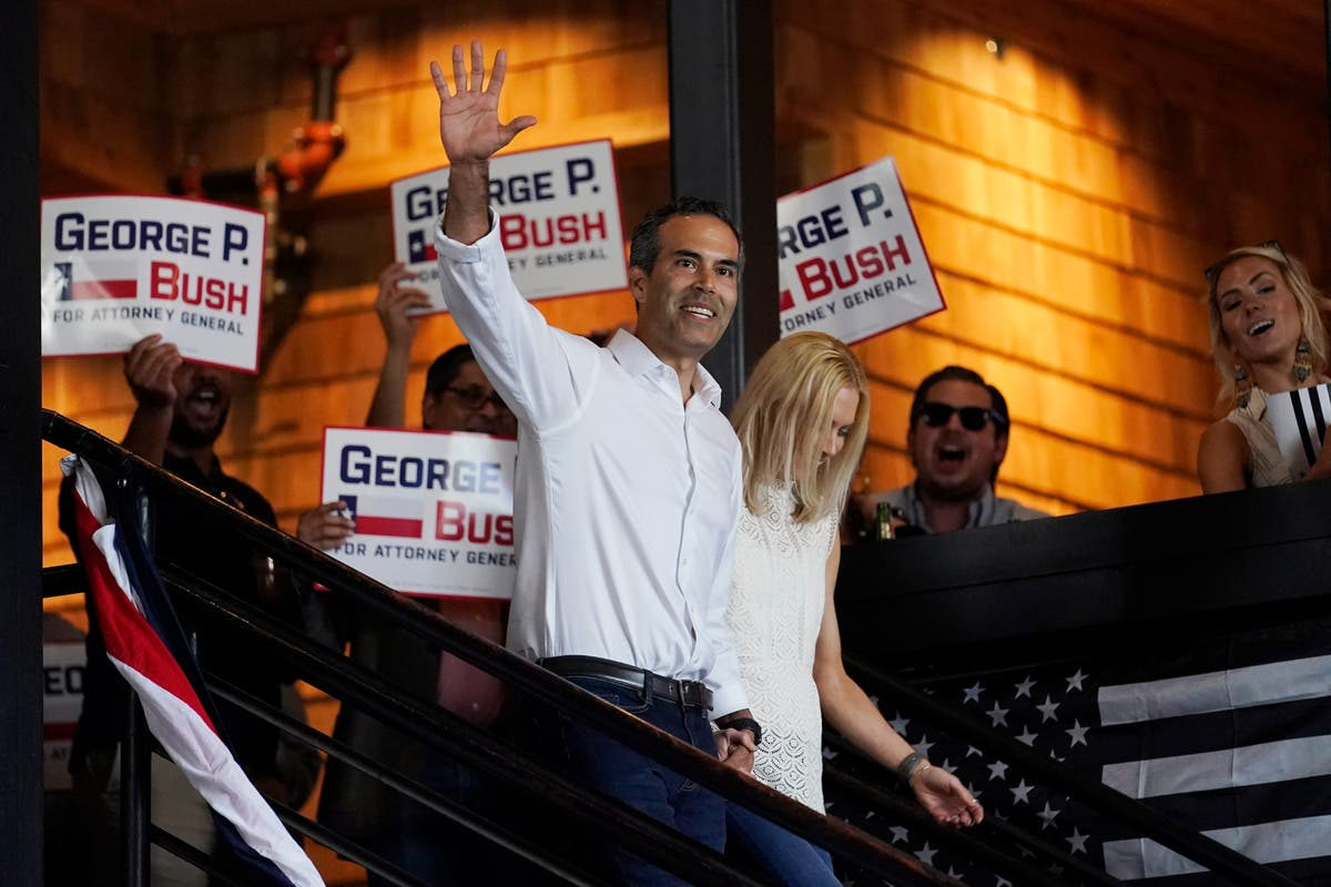 George P. Bush running for attorney general in Texas