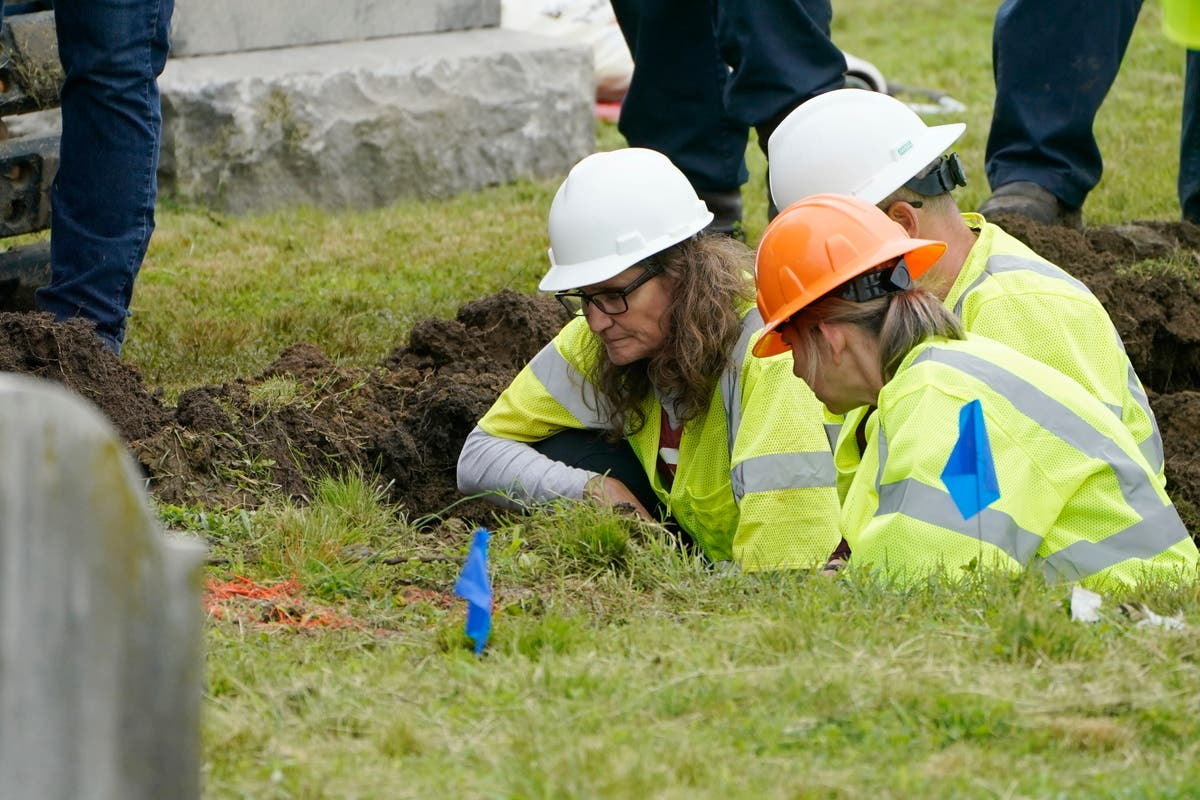 Cemetery search resumes for victims of Tulsa Race Massacre