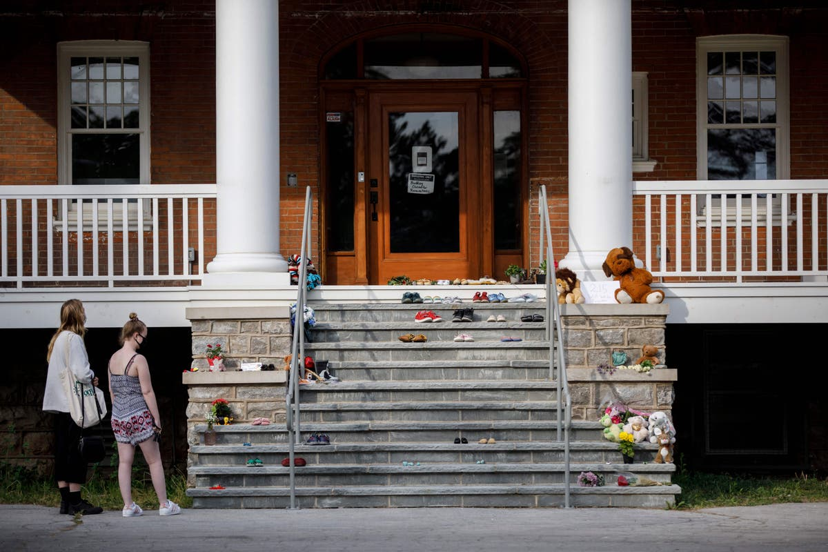 Discovery of children's remains reopens wounds amoung school survivors