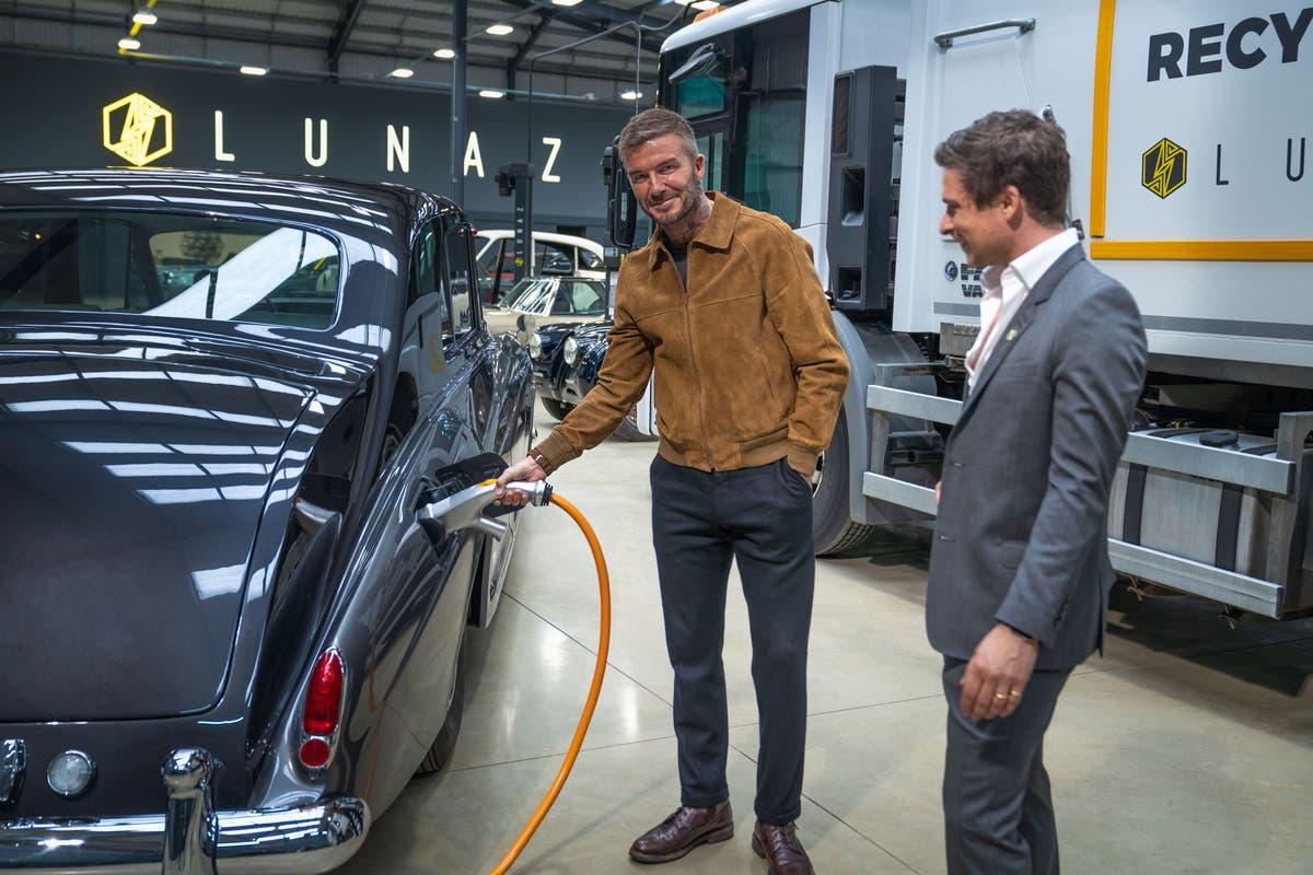 David Beckham announces backing for UK-based EV specialists