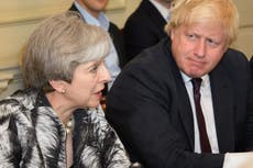 Theresa May joins 30-strong Tory rebellion on overseas aid cut risking damaging Commons defeat for Boris Johnson