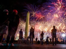 Trump fireworks caused $40k in damage to National Mall