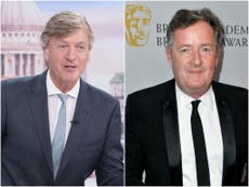 Richard Madeley says Piers Morgan was planning two-month break from Good Morning Britain before exit