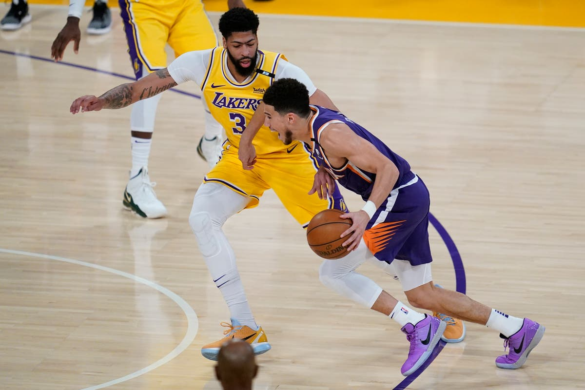 LA Lakers' NBA title defence over as Devin Booker leads Phoenix Suns to victory
