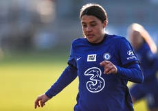 Top scorer Sam Kerr one of five Chelsea players in PFA WSL team of the year