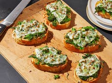 Revamp your leftovers with these vegetarian cheesy melts