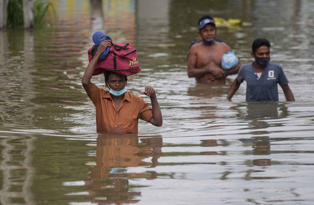 Floods and mudslides kill 4, another 7 missing  in Sri Lanka