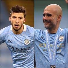 Manchester City's Ruben Dias and Pep Guardiola win Premier League awards