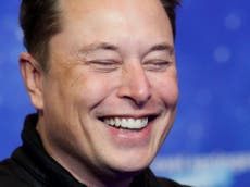 Elon Musk sends adult-themed crypto price 'to the moon' after tweeting explicit emoji