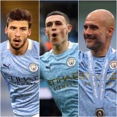 Manchester City scoop hat-trick of Premier League awards