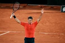 Roger Federer survives late-night war against German Dominik Koepfer
