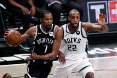 Brooklyn Nets defeat Milwaukee Bucks despite early loss of James Harden