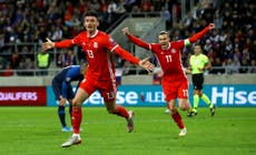 Kieffer Moore is a massive part of Wales' squad, says Robert Page