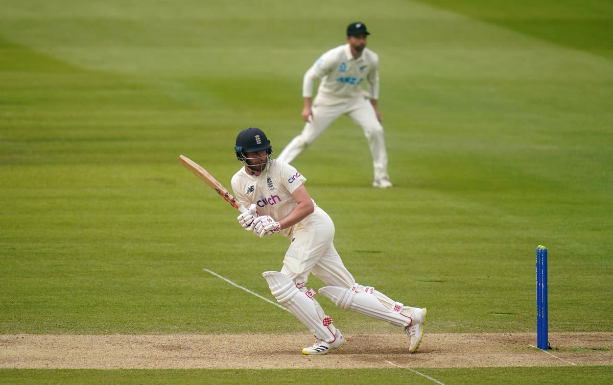 England 56 for two chasing 273 on final day of first Test against New Zealand