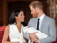 Prince Harry and Meghan Markle voted 'most respected' royals after the Queen by young people