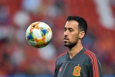 Spain captain Sergio Busquets tests positive for coronavirus ahead of Euro 2020