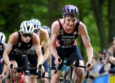 Alistair Brownlee admits Olympic hopes are over after disqualification in Leeds
