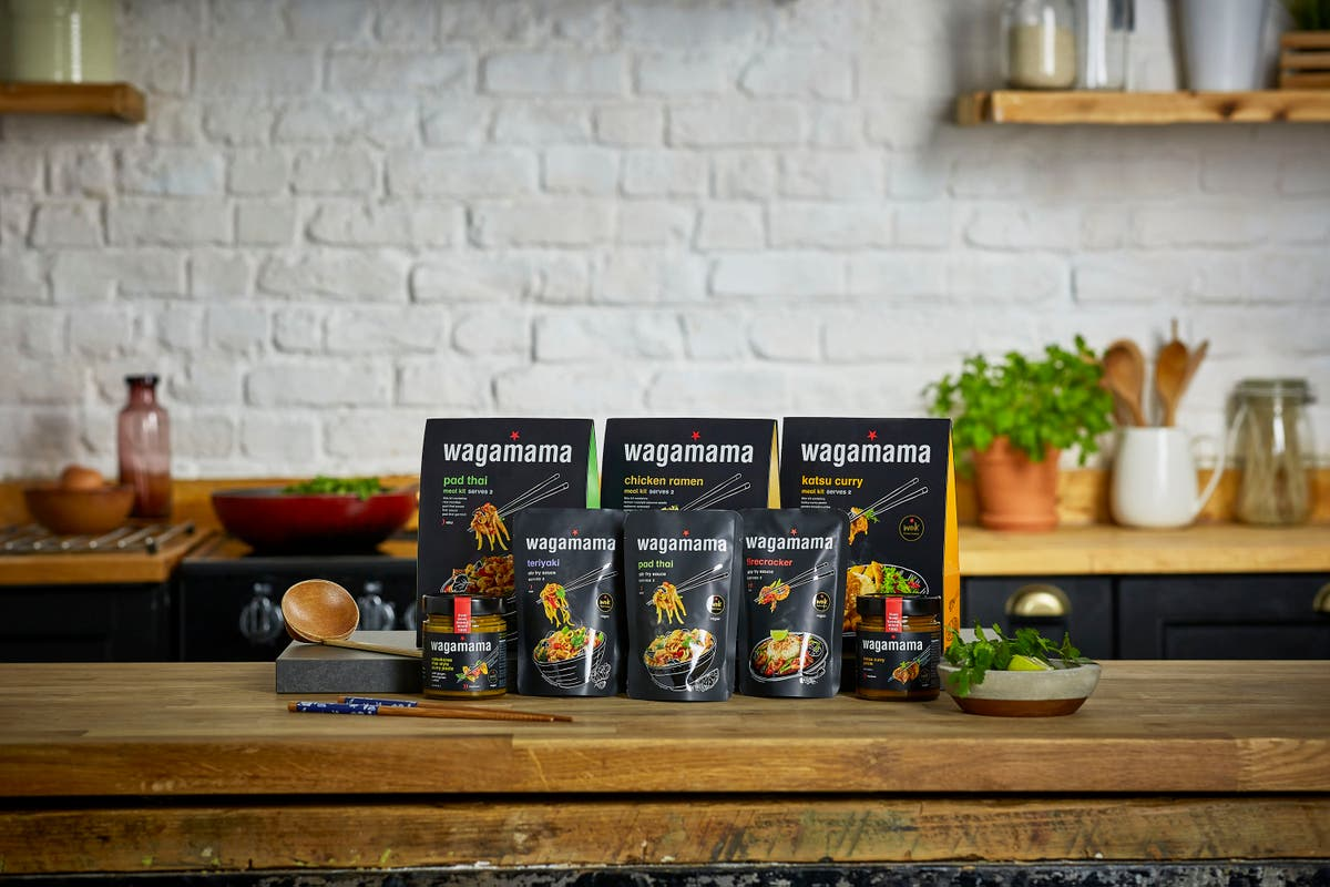 Wagamama launches home-cooking supermarket range