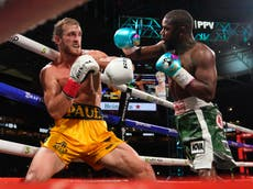 Floyd Mayweather vs Logan Paul LIVE: Fight results, latest updates, highlights and reaction
