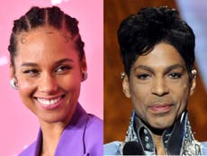 Alicia Keys recalls career-making moment Prince gave his blessing to record cover aged 18
