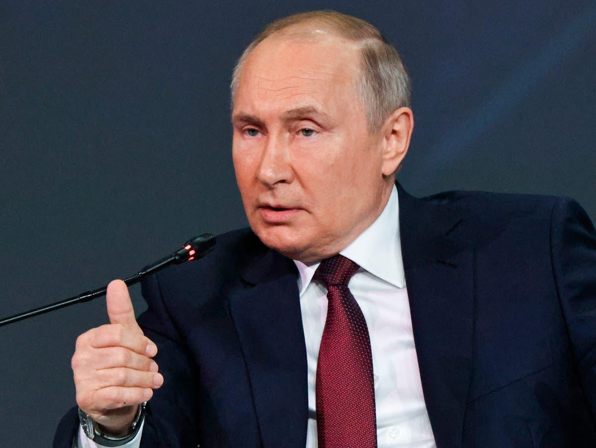 Putin claims UK warship near Crimea deliberately tried to test Russian military response