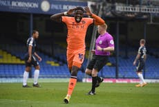 Barrow sign striker Offrande Zanzala on a two-year deal
