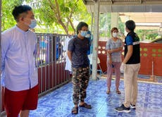 Journalists who fled Myanmar find third-country refuge