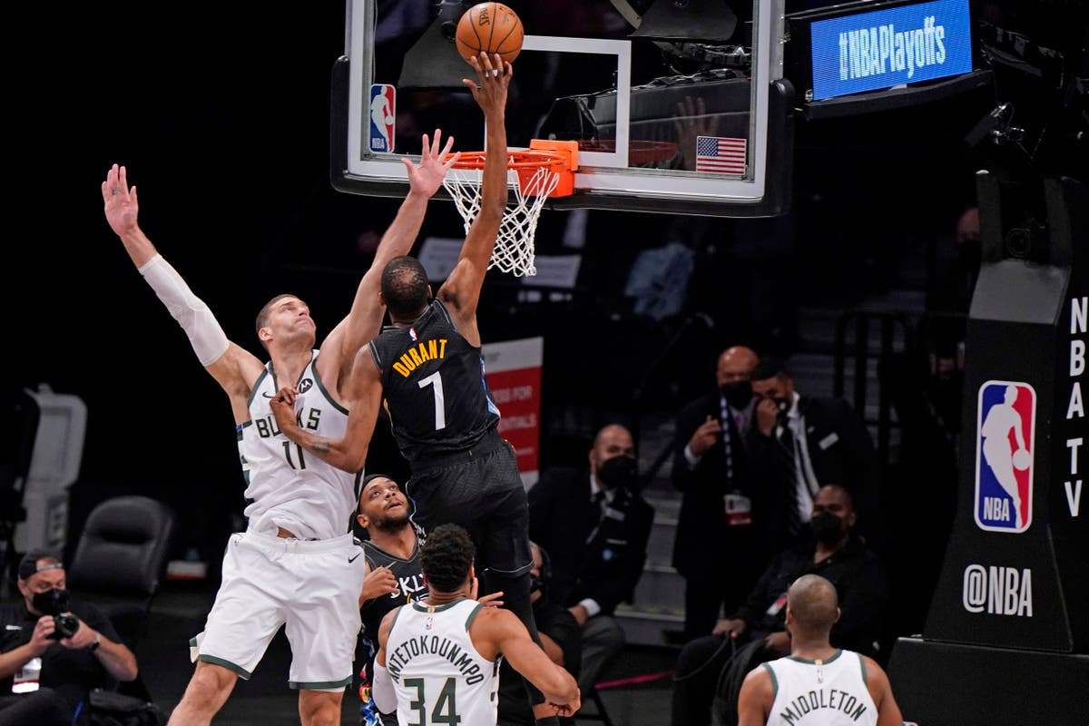 Brooklyn Nets crush Milwaukee Bucks to take 2-0 series lead in play-offs