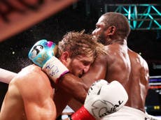 Logan Paul dismisses Floyd Mayweather fight conspiracy theory