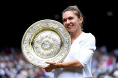 Simona Halep 'excited' to return from injury ahead of Wimbledon