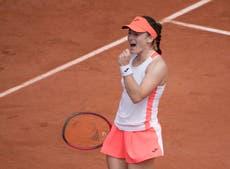 Slovenia's Tamara Zidansek overcomes Paula Badosa to reach French Open last four
