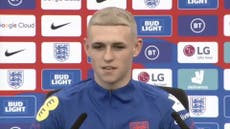 Phil Foden sports new dyed blonde hair amid comparisons to Paul Gascoigne