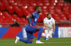 England fans not grasping reasons behind taking the knee a 'disappointment', Raheem Sterling admits