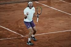 Stefanos Tsitsipas sees off Daniil Medvedev to reach French Open semi-finals