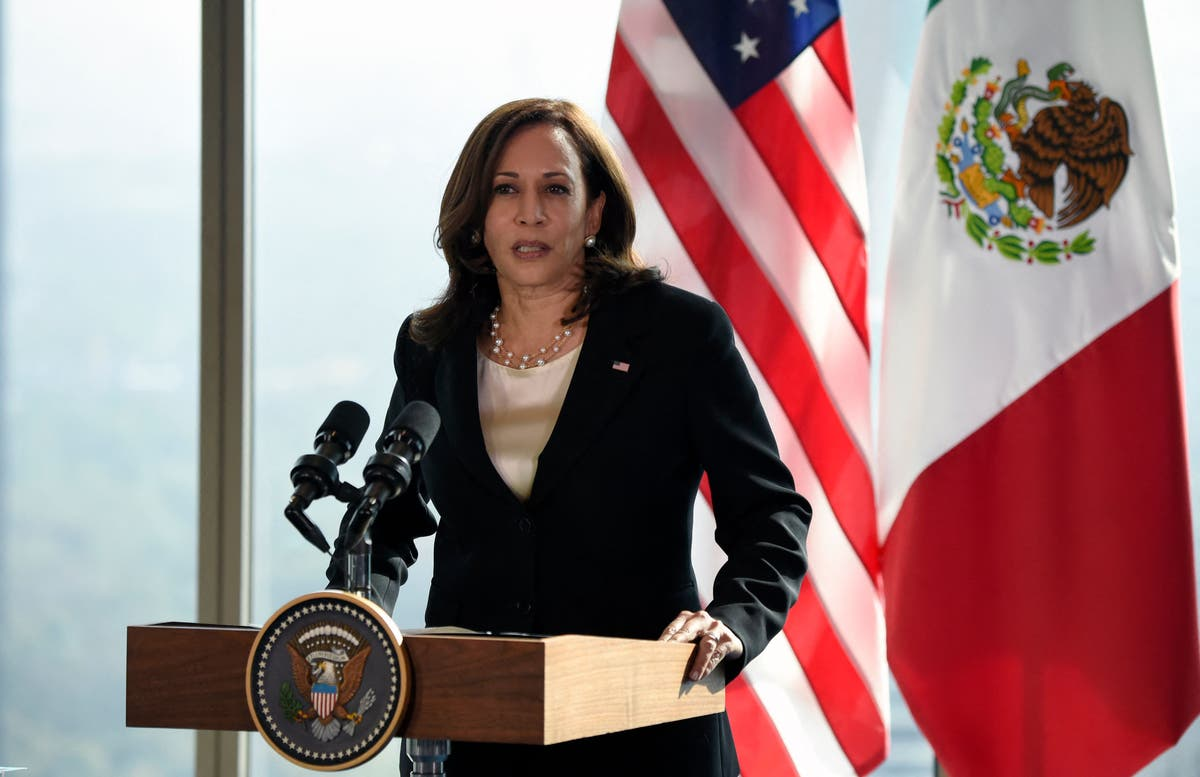 VP calls GOP criticisms 'shortsighted' as she confronts root causes of migration
