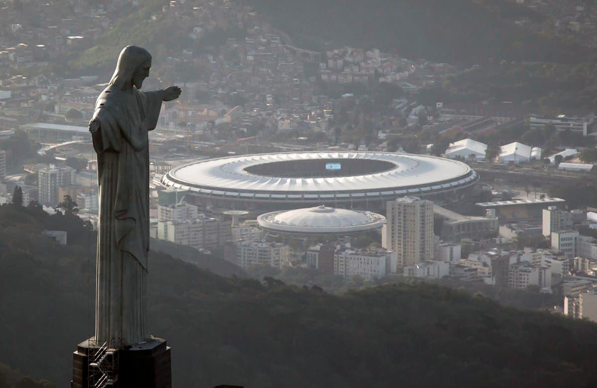 Rio de Janeiro's Christ statue: 'Thou shalt not bribe'