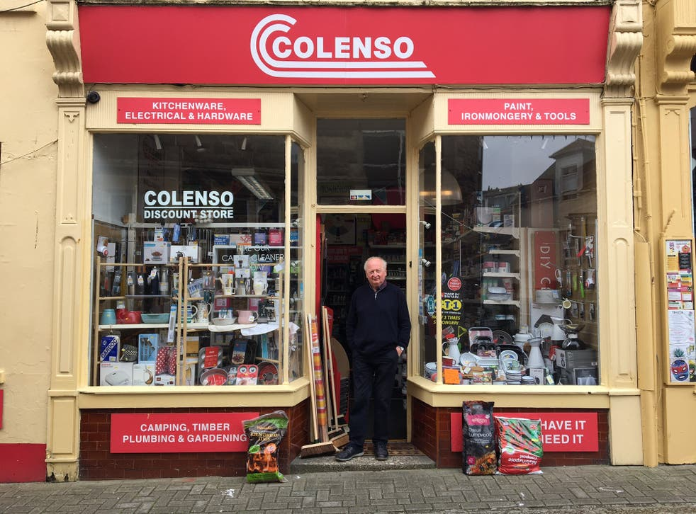 <p>Colin Nicholls has run Colenso hardware shop for 54 years</p>