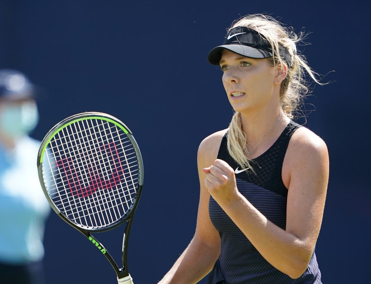 Katie Boulter delighted hard work is paying off as she continues comeback