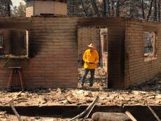 Governor tours Arizona fires, calls for special session