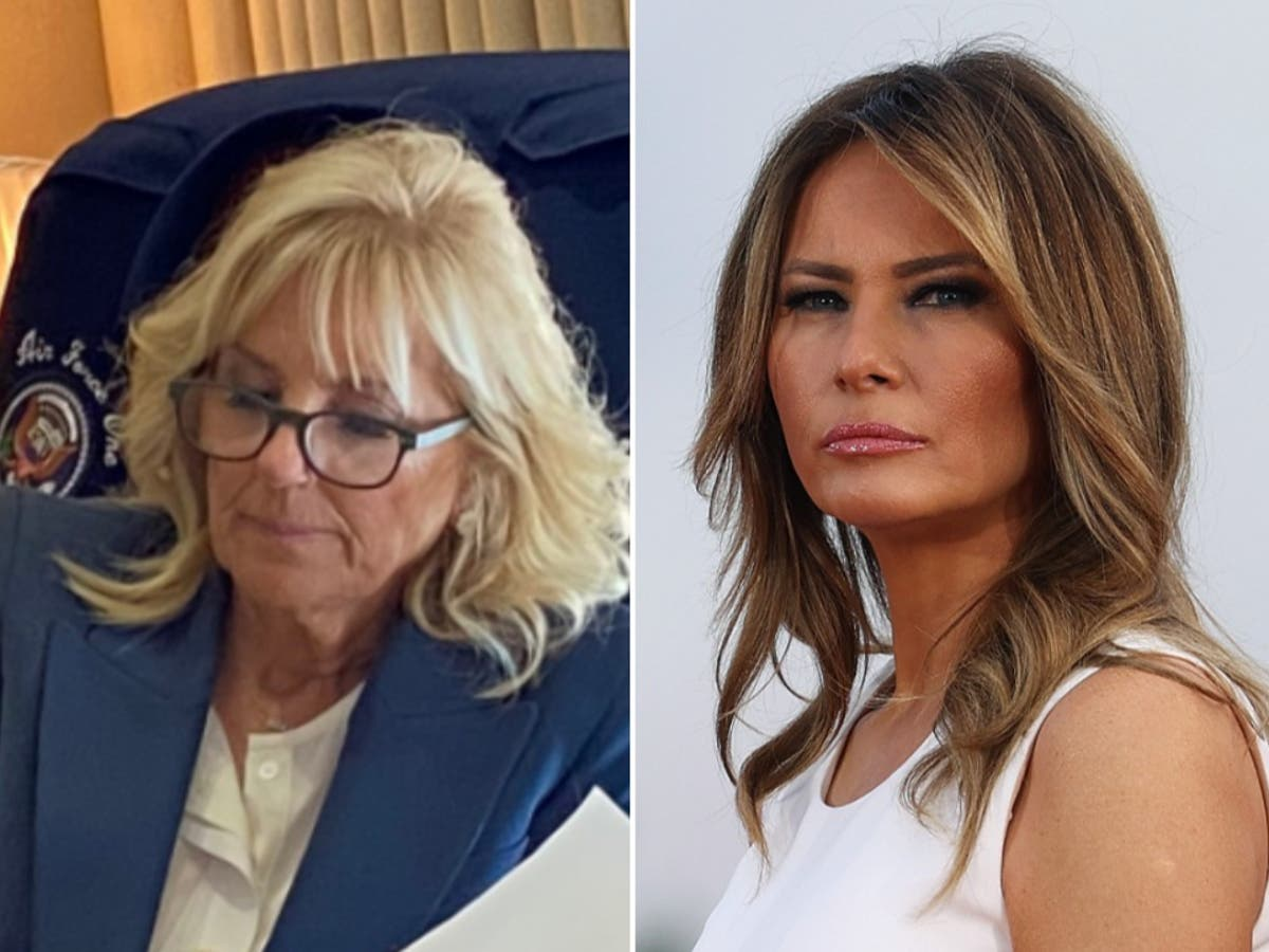 Jill Biden just sent a strong message to Melania Trump with her jacket — and maybe to Kamala too
