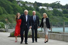 Boris Johnson will be thankful Joe Biden stayed quiet over Northern Ireland and a partnership is intact