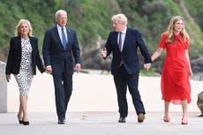 G7 summit — live: Johnson says Biden 'a breath of fresh air' as president touts US vaccine 'arsenal'