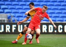 Nigel Clough hopes Danny Johnson stays on the goal trail at Mansfield