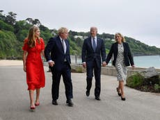 'The special relationship continues': Jill Biden praises Carrie Johnson as Biden quips he and Boris married 'above our stations'
