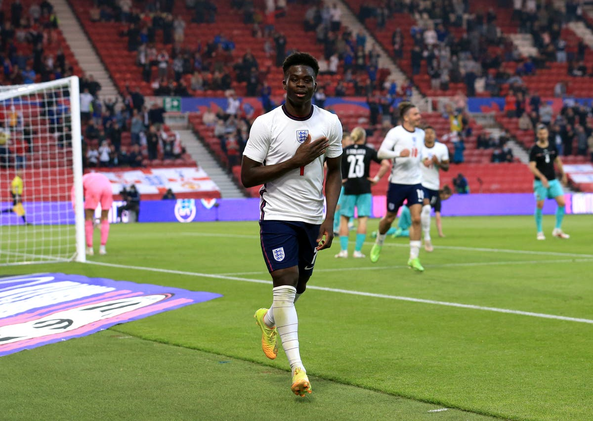 Bukayo Saka hopes to live up to his 'little chilli' nickname at Euro 2020