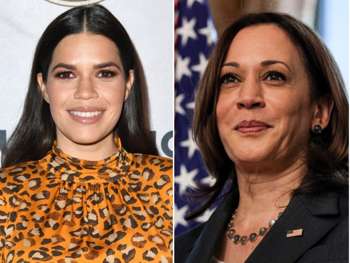 America Ferrara calls Kamala Harris telling immigrants 'do not come' a 'slap in the face'
