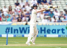 Dan Lawrence misses out on maiden Test century as England post 303
