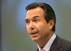 Former Lloyds boss knighted after turning around bank's fortunes