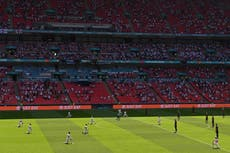 England fans boo taking of the knee before first Euro 2020 game against Croatia